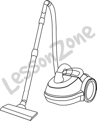 Lesson Zone AU - Clip Art Vacuum Clipart Black And White