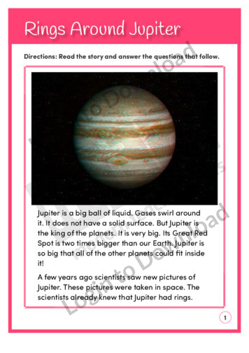 Rings Around Jupiter (Level 4)