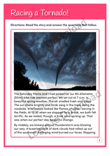 Racing a Tornado! (Level 5)