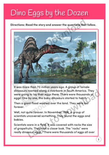 Dino Eggs by the Dozen (Level 6)