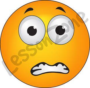Worried Emoticon Text This illustration  worriedWorried Emoticon