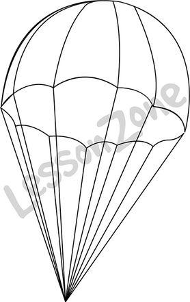 Parachute B&W