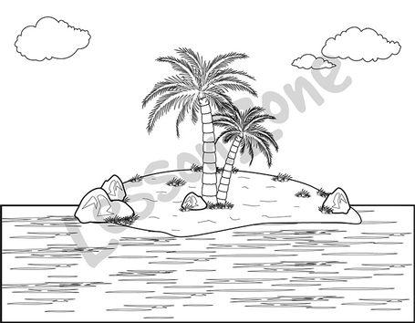 Island B&W