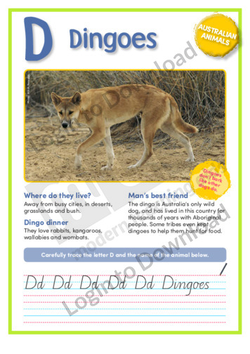 D: Dingoes