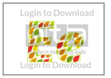 109702E01_DisplayAlphabetAutumnLeaves05