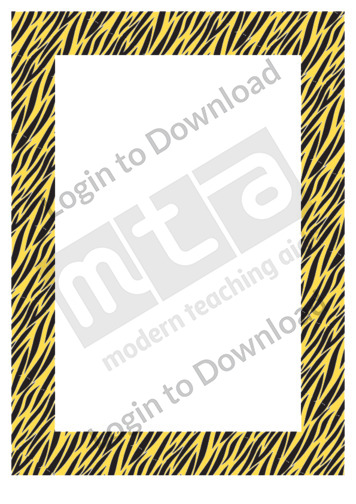 Tiger Prints (border)