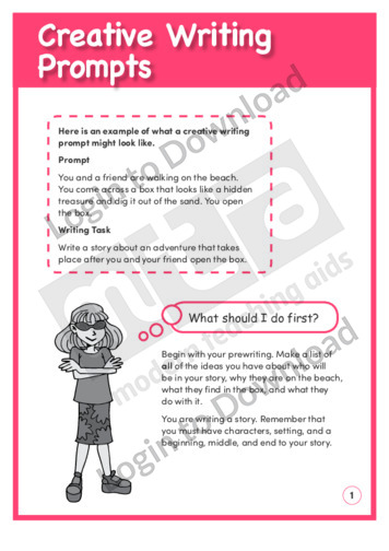 creative writing prompts . com ideas for writers Title: creative writing prompts com ideas for writers: description: creative writing prompts collection of writing prompts and story starters for writers.