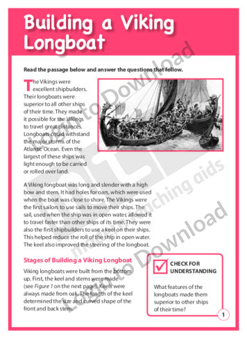 Building a Viking Longboat
