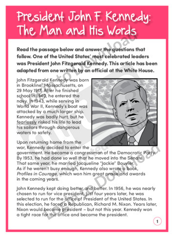 Meaning of Words: President John F. Kennedy