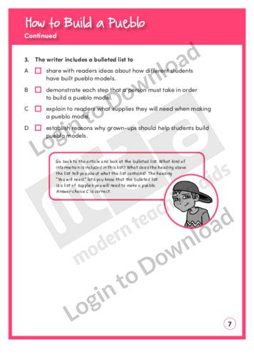 Lesson zone au how to build a pueblo for How to build a model pueblo house