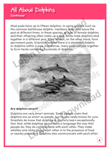 110408E02_ReadingComprehensionAllAboutDolphins04