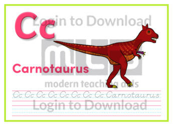 C: Carnotaurus