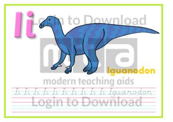 I: Iguanodon