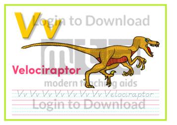 V: Velociraptor