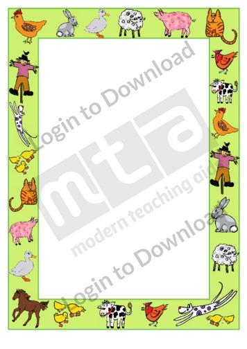 110789Z01_DecorativePageBordersFarmyard01
