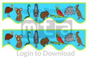 110816Z01_BulletinBoardTrimmersWideAustralianAnimals04