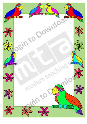 110834Z01_DecorativePagebordersParrot01