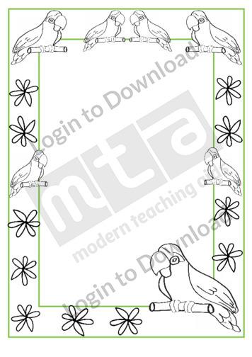 110834Z01_DecorativePagebordersParrot02