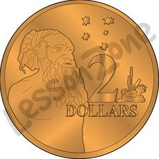 Australia, $2 coin