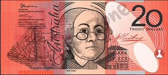 Australia, $20 note