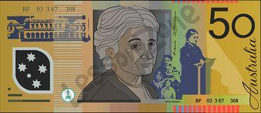 Australia, $50 note