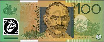 Australia, $100 note