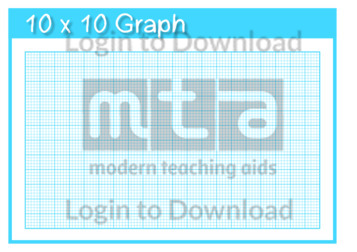 10×10 Graph Template