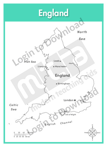 England (labelled outline)