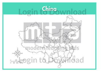 China (outline provinces)