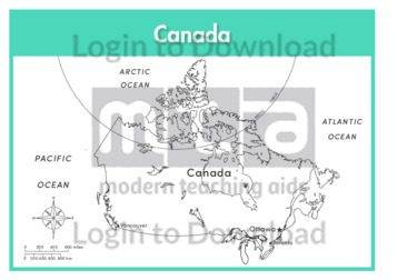 Canada (labelled outline)