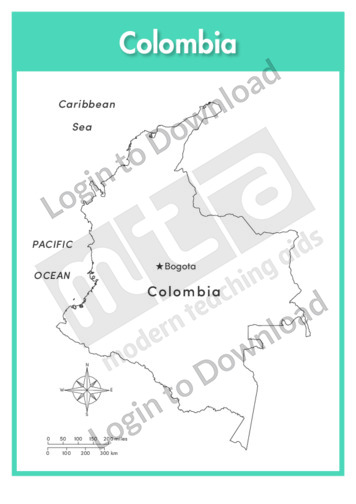 Columbia (labelled outline)