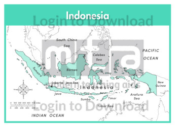 Indonesia (labelled)