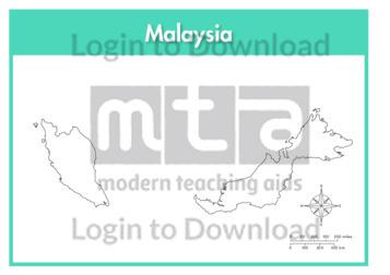 Malaysia (outline)