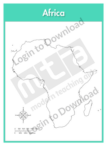 111155E01_Continent_Outline_Map_Africa01