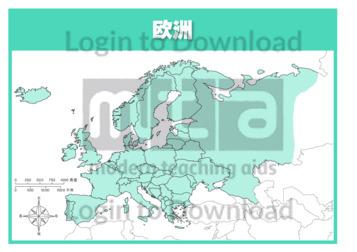111169C02_大洲地图欧洲01