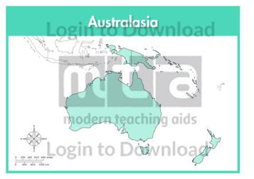 Australasia: Continent