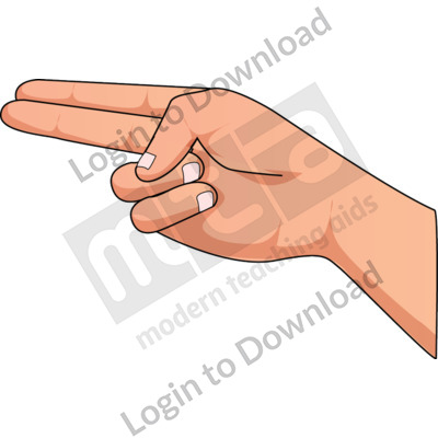 American Sign Language: H