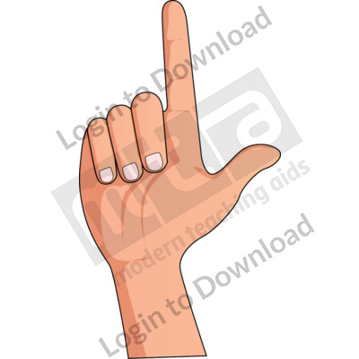 American Sign Language: L