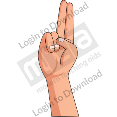 American Sign Language: U