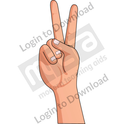 American Sign Language: V