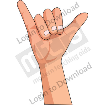 American Sign Language: Y