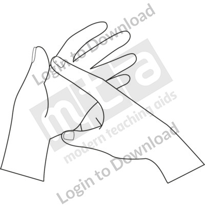British Sign Language: A B&W