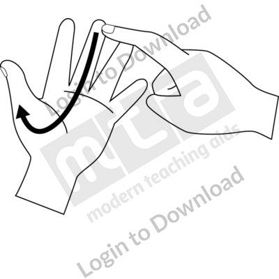 british sign language j bw