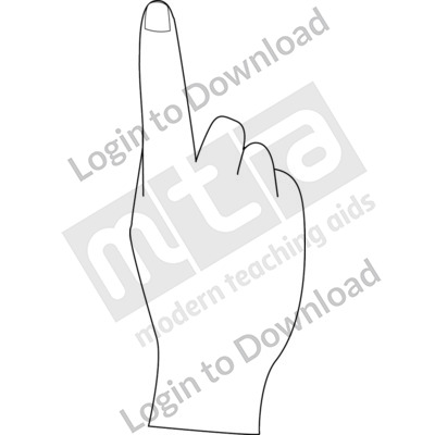 British Sign Language: 1 B&W