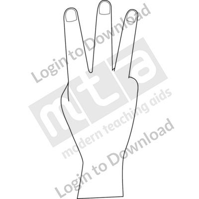 British Sign Language: 3 B&W