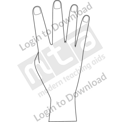 British Sign Language: 4 B&W