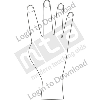 British Sign Language: 9 B&W