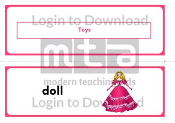 Toys (Landscape 2/page)