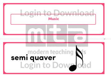 Music (Landscape 2/page)