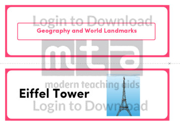Geography and World Landmarks (Landscape 2/page)